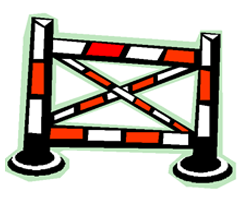 Image of an obstacle for horses