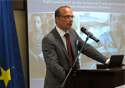 FRA director Morten Kjaerum at the high level meeting on Roma inclusion in Slovakia