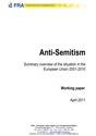 Anti-Semitism Summary overview of the situation in the European Union 2001-2010
