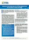 Factsheet: Inequalities and multiple discrimination in access to healthcare