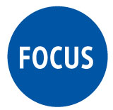 Focus graphical element