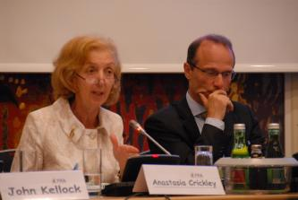 Anastasia Crickley and Morten Kjaerum - II Fundamental Rights Platform Meeting (5-6 May 2009)