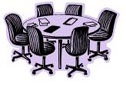 Clip art picture - meeting table