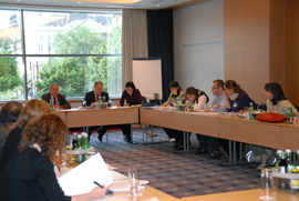 Working Groups at the 2nd FRP Meeting