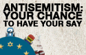Antisemitism survey logo