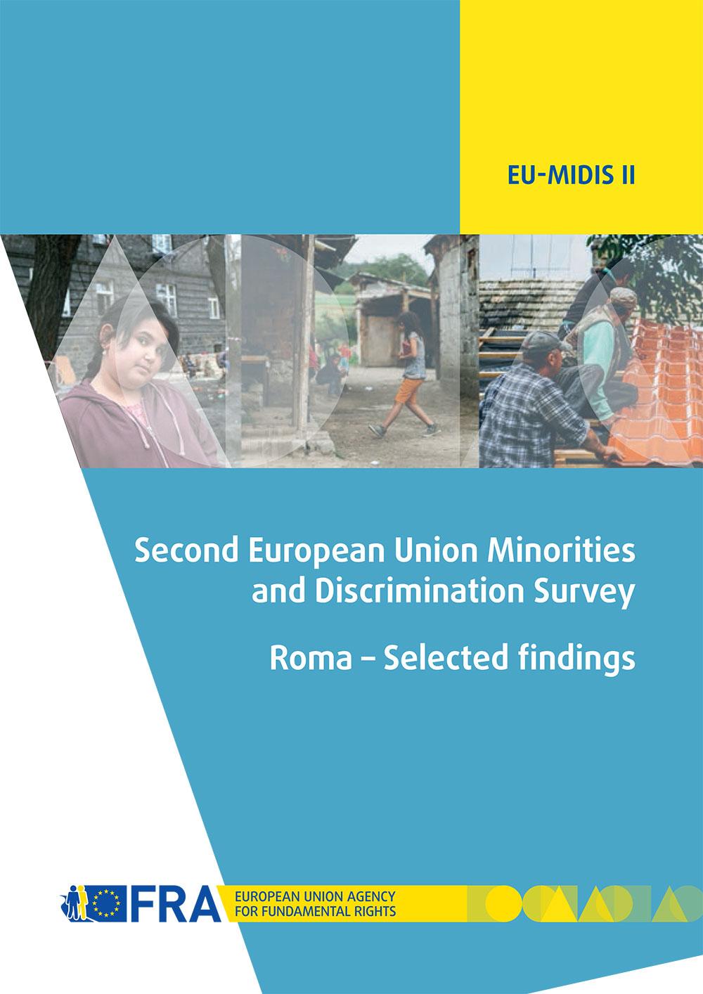 Report cover EU-MIDIS II Roma selected findings