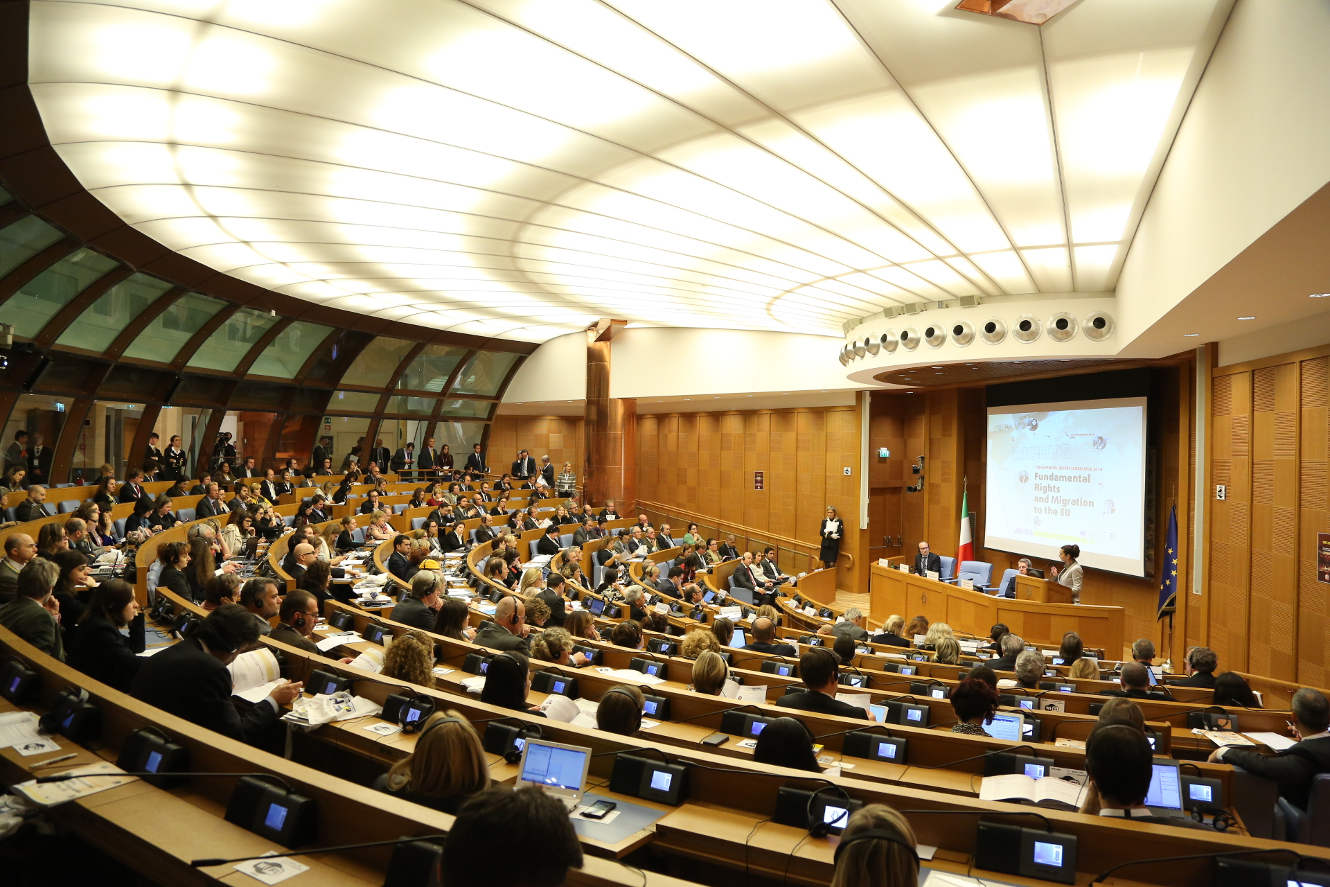 The start of the FRC in Rome, 10 Oct 2014