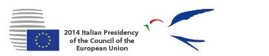 2014 Italian Presidency of the Council of the European Union Logo