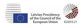 2015 Latvian Presidency of the Council of the European Union Logo
