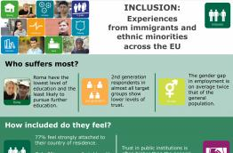 Inclusion: Experiences from immigrants and ethnic minorities across the EU