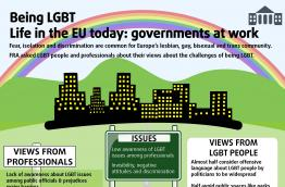 Being LGBT - Life in the EU today: governments at work