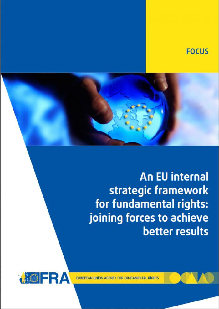 An EU internal strategic framework for fundamental rights: joining forces to achieve better results