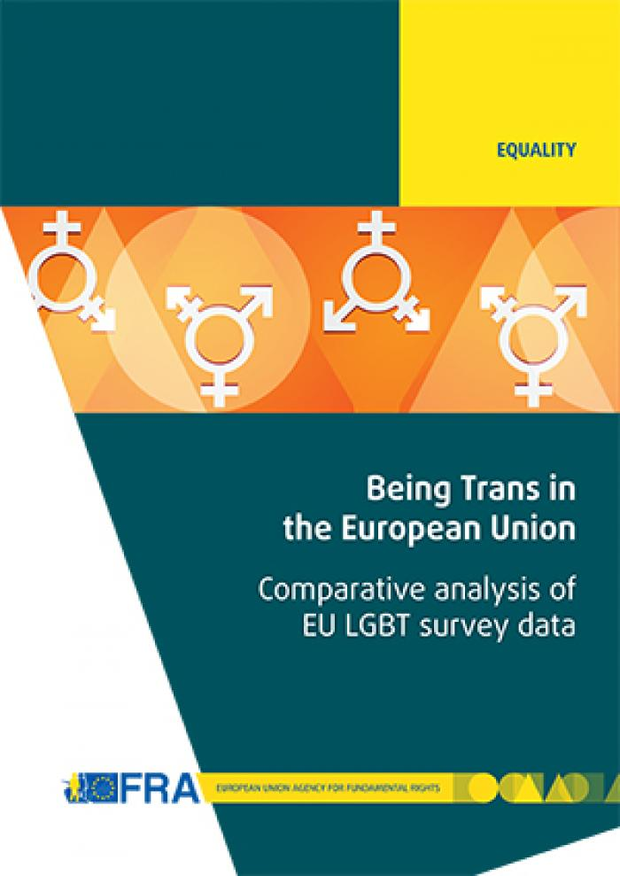 being trans in the eu comparative analysis of the eu lgbt survey