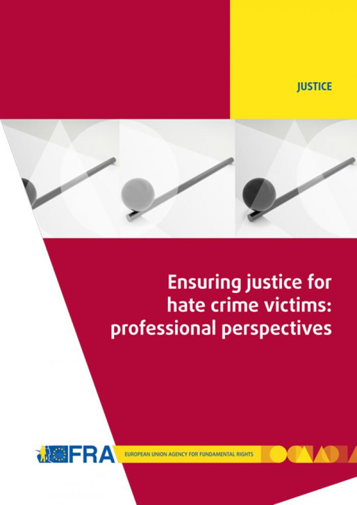 Ensuring Justice For Hate Crime Victims Professional Perspectives  Ensuring Justice For Hate Crime Victims Professional Perspectives