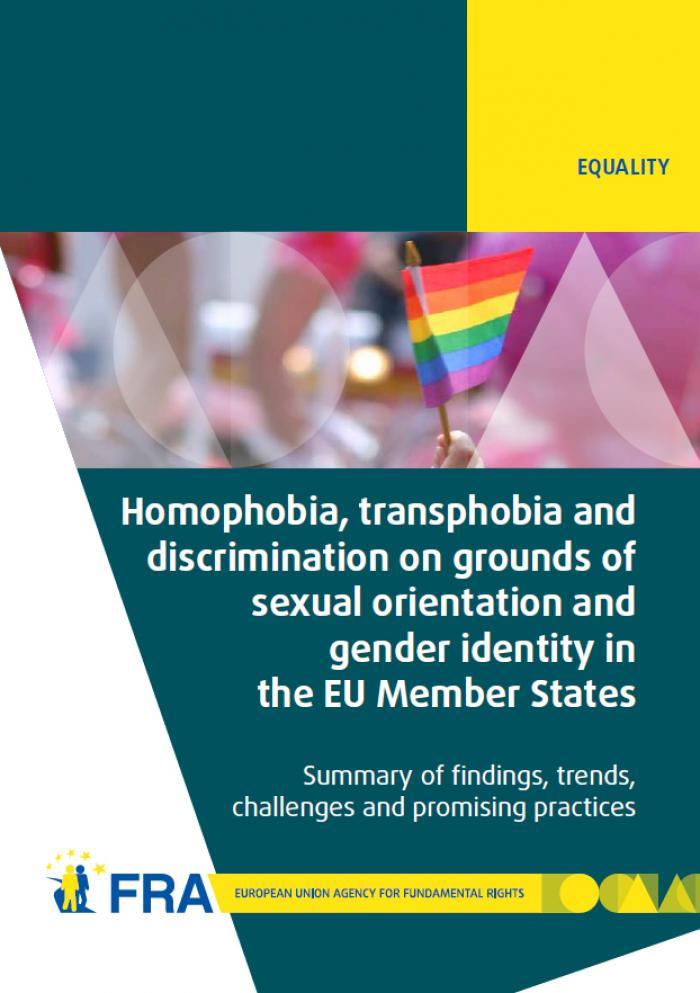 publication homophobia discrimination grounds sexual orientation member states part