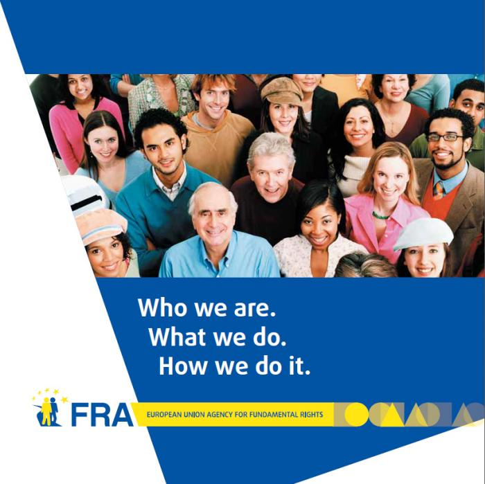 FRA Booklet: Who we are, what we do, how we do it