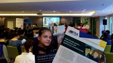 FRA and UNICEF reports on Access to Justice for children