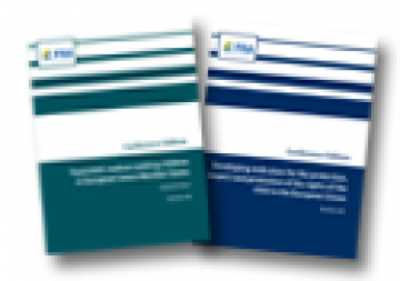 Covers of the 2 reports published by the FRA on 7.12.2010