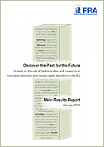 Cover of the FRA Study