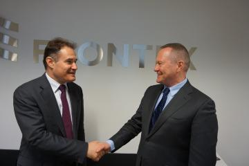 FRA Director, Michael O'Flaherty meets Frontex Director, Fabrice Leggeri in Warsaw