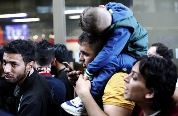 Syrian Refugees Stranded in Vienna