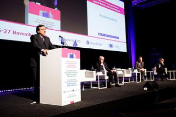 Participation of José Manuel Barroso, President of the EC in the annual Convention of the European Platform against Poverty and Social Exclusion
