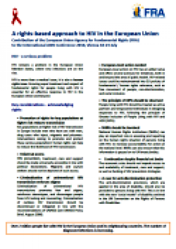 Cover of the factsheet