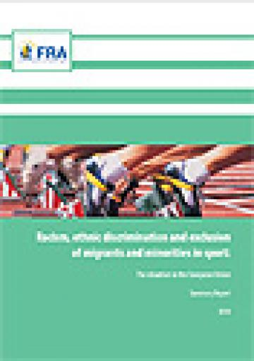 Cover: FRA report on tackling Racism in Sport