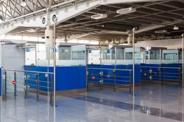 Closed rack passport control