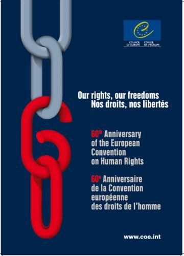 60 YEARS of the European Convention on Human Rights