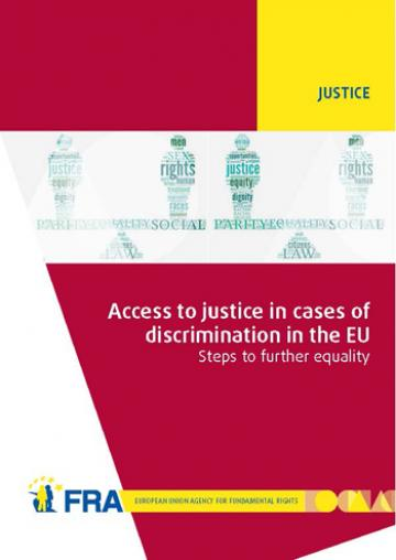 Access to justice report - cover