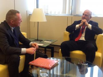 FRA Director meets Council of Europe's Human Rights Commissioner