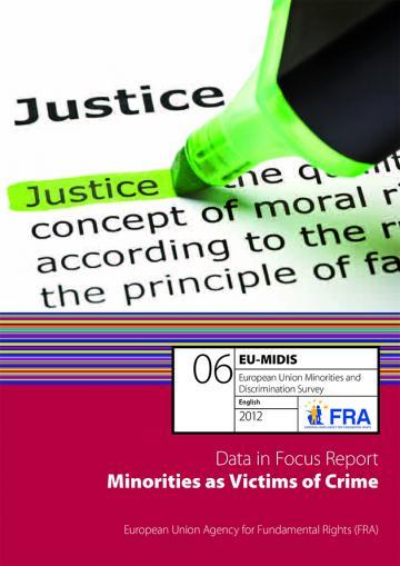 EU-MIDIS report cover