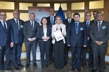 The Heads of ten EU Agencies strengthen their commitment to working together against trafficking in human beings