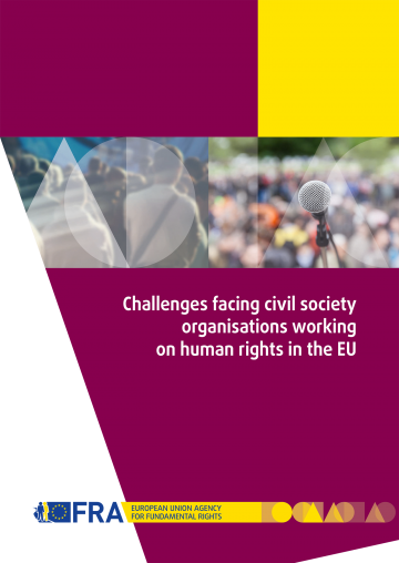 Challenges facing civil society organisations working on human rights in the EU