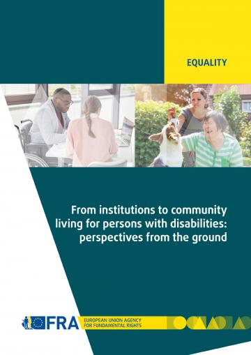 From institutions to community living for persons with disabilities: perspectives from the ground