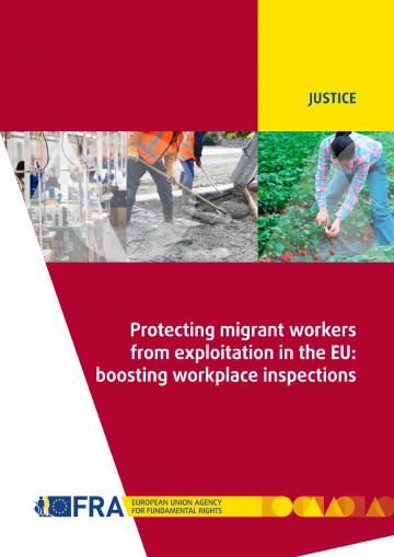 Protecting migrant workers from exploitation in the EU: boosting workplace inspections