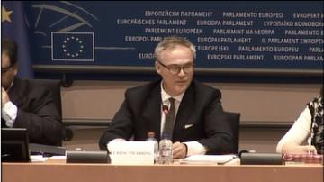 Friso Roscam Abbing presents study on fundamental rights at airports and land borders at LIBE Committee