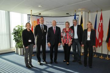 FRA visited the European Union's Judicial Cooperation Unit, Eurojust on 11-12 September 2013