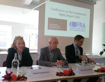The Danish presenation of the Fundamental Rights Report 2016
