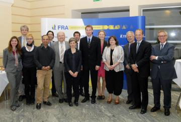 Delegation from German Parliament's Sub-committee for EU Law with FRA staff