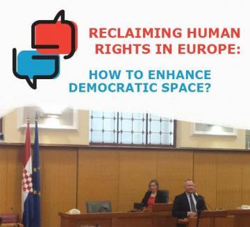 Intervention de la FRA lors de la conférence sur la démocratie et les droits de l'homme organisée par la Médiatrice croate