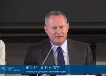 FRA speaks at European University Institute's annual State of the Union conference