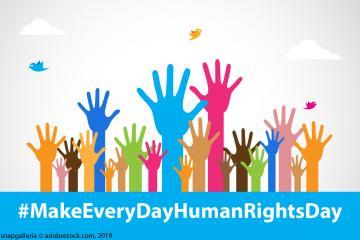 Jeder Tag sollte ein Tag der Menschenrechte sein