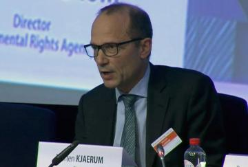 FRA Director Morten Kjaerum at the Open and Safe Europe conference, 30 Jan 2014