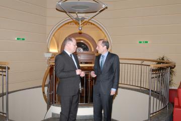 Christian Lange visits FRA