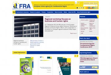 The new FRA website