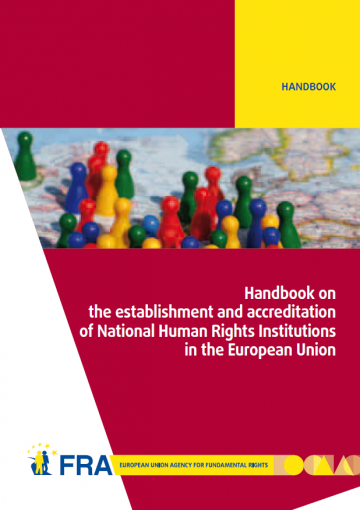 National Human Rights Institutions Handbook - cover