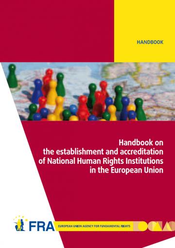NHRI Handbook cover