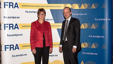 Anne Brasseur, President of the Council of Europe's Parliamentary Assembly (PACE), Morten Kjaerum, FRA Director